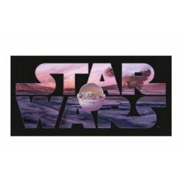 Star Wars The Mandalorian törölköző, fürdőlepedő - Baby Yoda