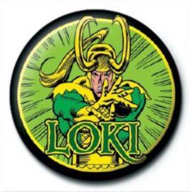 Bosszúállók Loki kitűző - Retro Comics