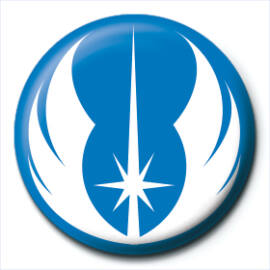 Star Wars kitűző - Jedi szimbólum