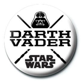 Star Wars Darth Vader kitűző