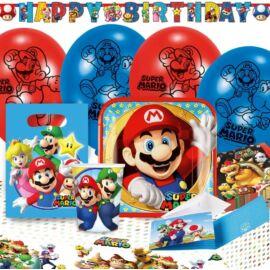Super Mario party szett - 60 db-os csomag