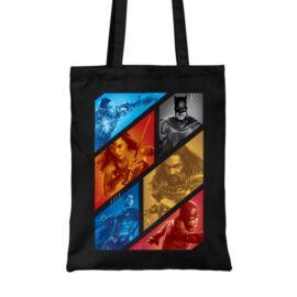 Fekete DC Comics vászontáska - Justice Team