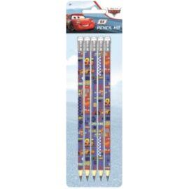 Verdák HB ceruza radírvéggel szett - 5 db-os