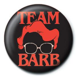 Stranger Things kitűző - Team Barb