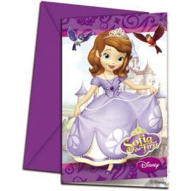 Disney Szófia hercegnő party meghívó csomag