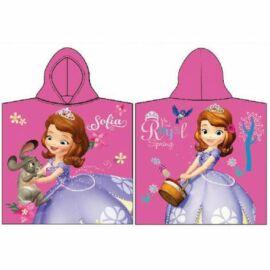 Disney Szófia hercegnő poncsó törölköző - Szófia és Clover