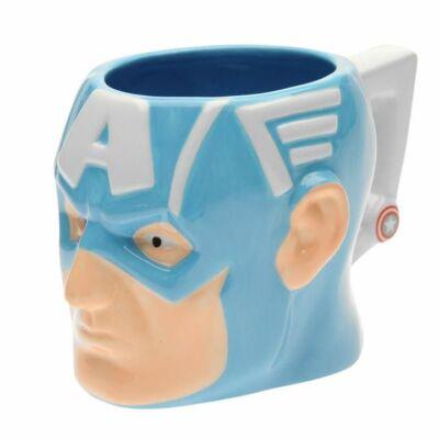 Amerika Kapitány 3D kerámia bögre