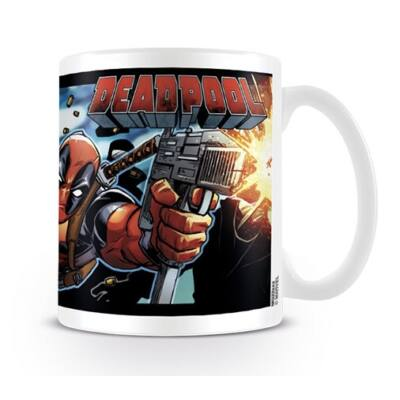 Deadpool bögre - Shooting With Style