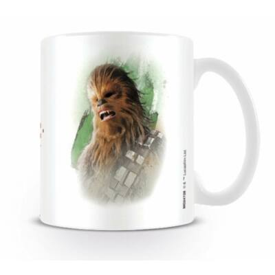 Star Wars: Az utolsó Jedik bögre - Chewbacca