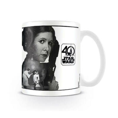 Star Wars 40 éves jubileumi bögre - Leia hercegnő