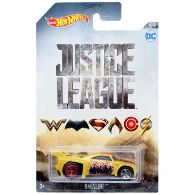 Hot Wheels - Az Igazság Ligája: Bassline kisautó