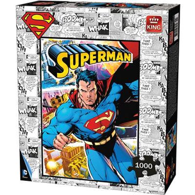 Superman 1000db-os Comic puzzle