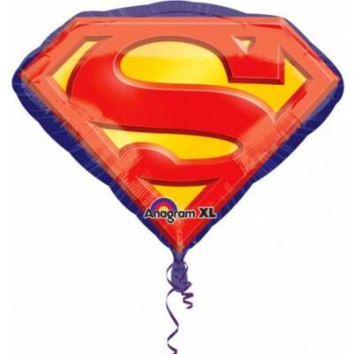 Superman fólia lufi 66 cm