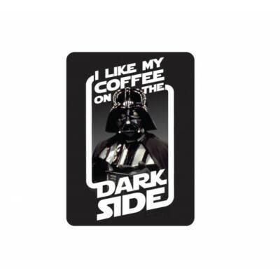 Star Wars hűtőmágnes - Darth Vader: I like my coffee on the Dark Side