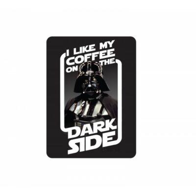 Star Wars hűtőmágnes - Darth Vader: I like my coffee on the Dark Side