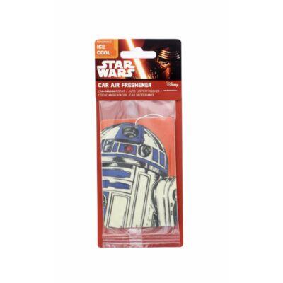 Star Wars autóillatosító, légfrissítő - R2-D2 - Ice Cool illat