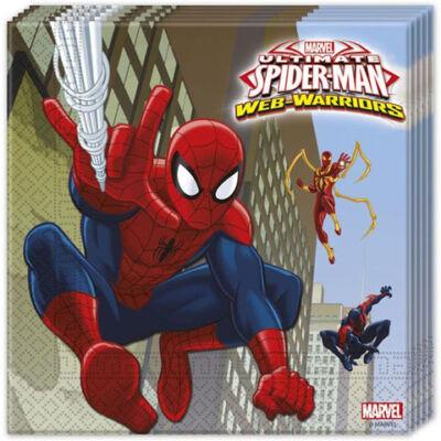 Pókember papírszalvéta