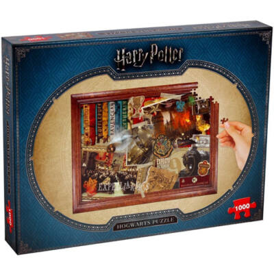 Harry Potter Roxfort puzzle 1000db-os