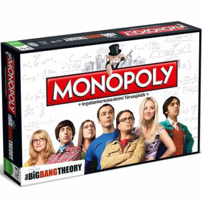 Agymenők Monopoly társasjáték