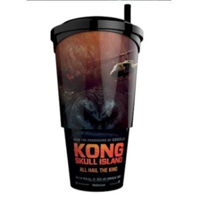 Kong: Koponya-sziget pohár, topper és popcorn tasak (Kong figura)