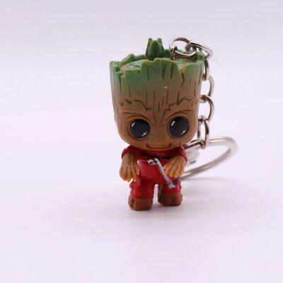 Baby Groot kulcstartó - álló