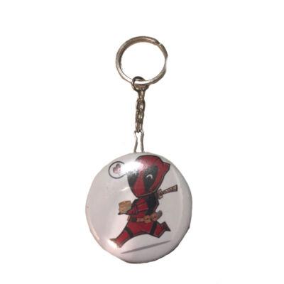 Deadpool kulcstartó sönynyitóval