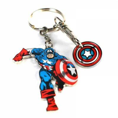 Marvel Amerika Kapitány fém kulcstartó