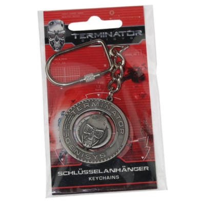 Terminator: Genisys fém kulcstartó
