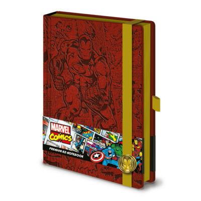 Marvel Vasember prémium jegyzetfüzet A5