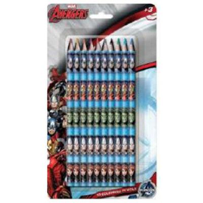 Bosszúállók színes ceruza szett - 10 darabos készlet