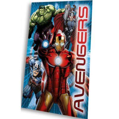 Bosszúállók polár takaró, ágytakaró (Vasember, Sólyomszem, Thor, Hulk és Amerika Kapitány)
