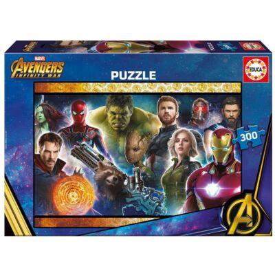 Bosszúállók: Végtelen háború puzzle 300 db-os