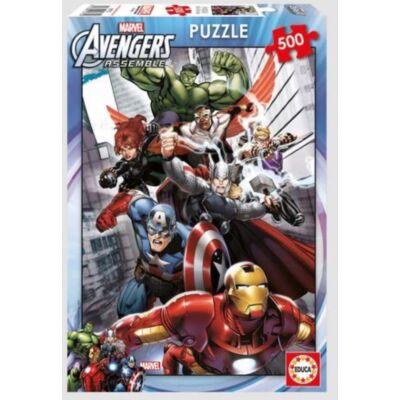 Marvel Bosszúállók puzzle 500 darabos