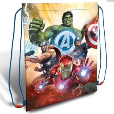 Bosszúállók tornazsák, sportzsák (Hulk, Vasember, Thor, Amerika Kapitány)