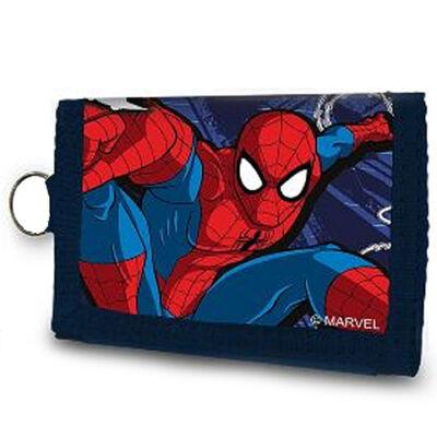 Pókember tépőzáras pénztárca