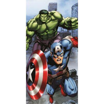 Bosszúállók törölköző, fürdőlepedő - Amerika Kapitány és Hulk