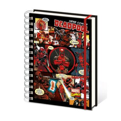 Deadpool jegyzetfüzet A5