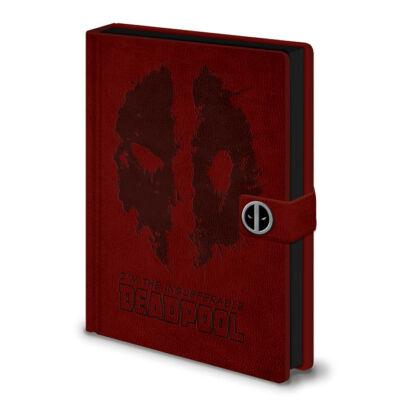 Deadpool jegyzetfüzet - prémium A5