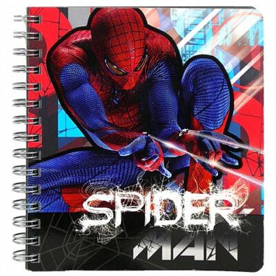 Pókember spirálos notesz