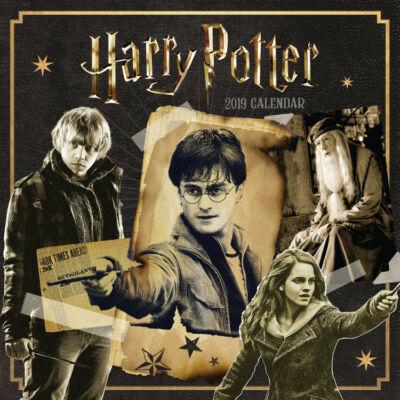 Harry Potter falinaptár 2019
