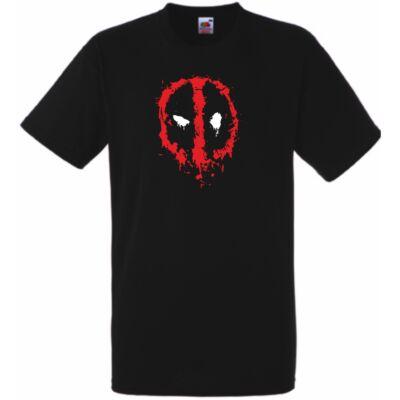 Fekete Deadpool póló