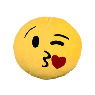 Emoji díszpárna - Kacsintós Emoji párna