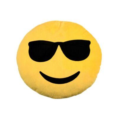 Emoji díszpárna - Napszemüveges Emoji párna