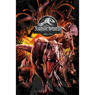 Jurassic World: Bukott birodalom plakát - Montázs