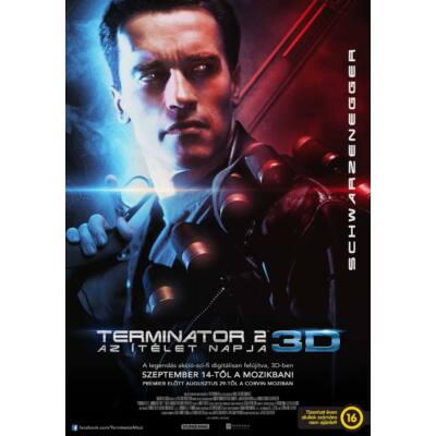Terminátor 2 - Az ítélet napja 3D plakát
