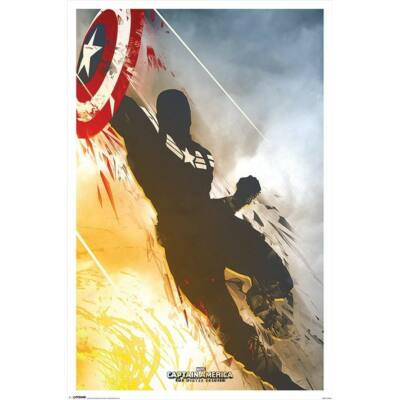 Amerika Kapitány: A tél katonája plakát