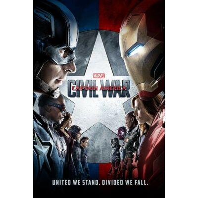 Amerika Kapitány: Polgárháború plakát