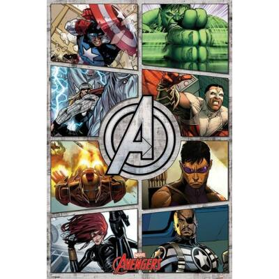 Bosszúállók plakát - Comic Panel