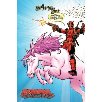 Deadpool 2 plakát - Unikornis