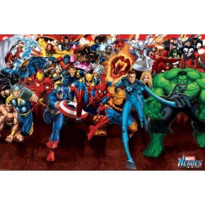 Marvel hősök plakát